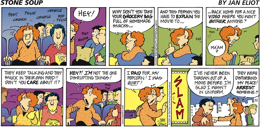 Stone Soup for Apr 2, 2000 Comic Strip