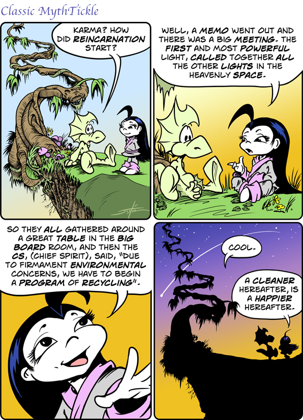 MythTickle by Justin Thompson for May 08, 2019