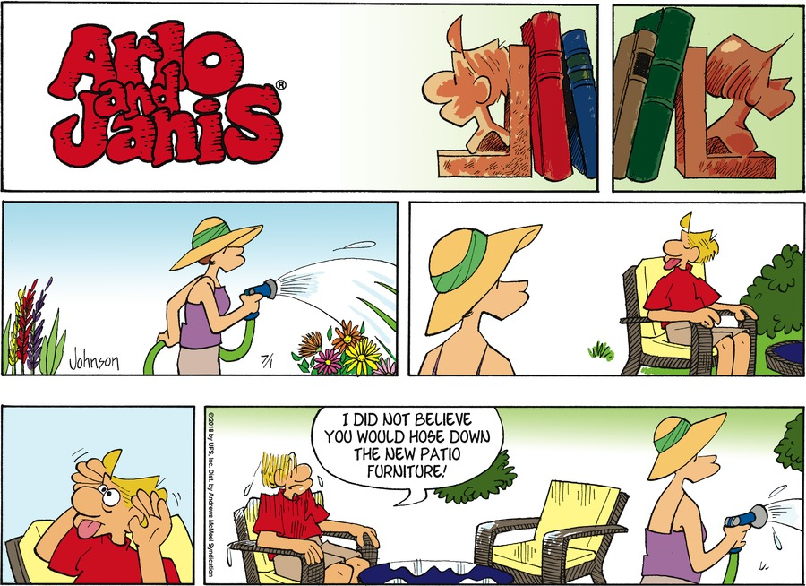 Arlo and Janis Comic Strip for July 01, 2018