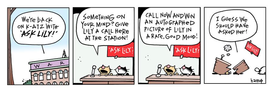 Ten Cats Comic Strip for July 15, 2021