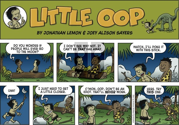 Alley Oop on Sunday May 12, 2019 Comic Strip