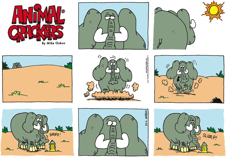 Animal Crackers Comic Strip for July 14, 2019