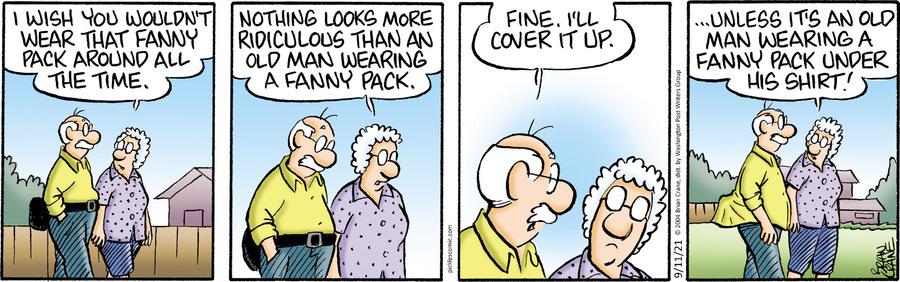 Pickles Comic Strip for September 11, 2021