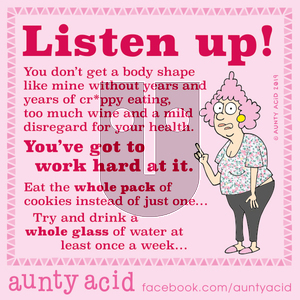 Aunty Acid - Monday November 11, 2019 Comic Strip