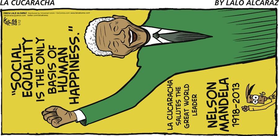 La Cucaracha for Jan 12, 2014 Comic Strip