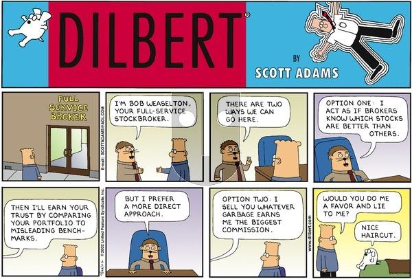 Dilbert - Sunday September 22, 2002 Comic Strip