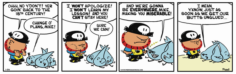 Pirate Mike Comic Strip for November 15, 2018