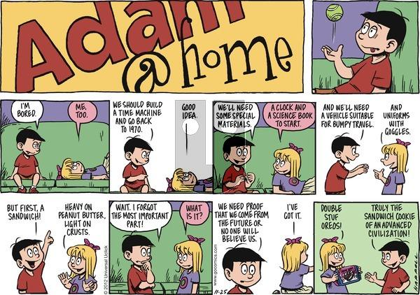 Adam@Home on Sunday November 25, 2012 Comic Strip