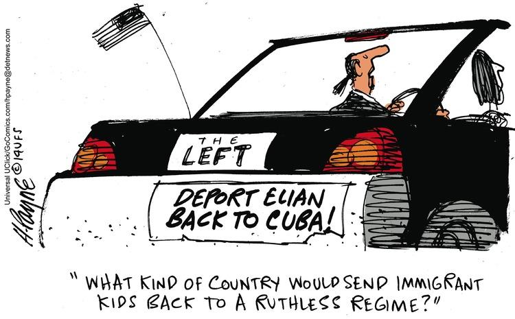 Henry Payne Comic Strip for August 03, 2014