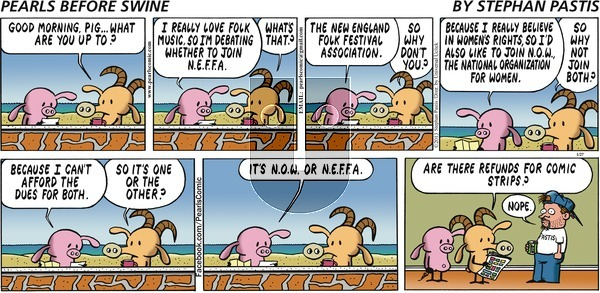 Pearls Before Swine - Sunday January 27, 2013 Comic Strip