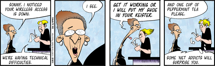 Rudy Park Comic Strip for February 28, 2020