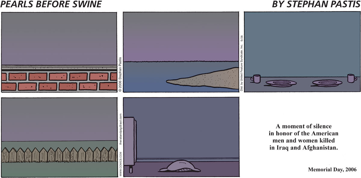 Pearls Before Swine Comic Strip for May 28, 2006
