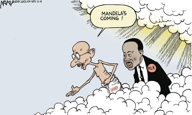 Mandela's coming!