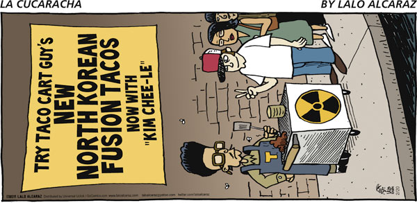 La Cucaracha Comic Strip for February 20, 2011