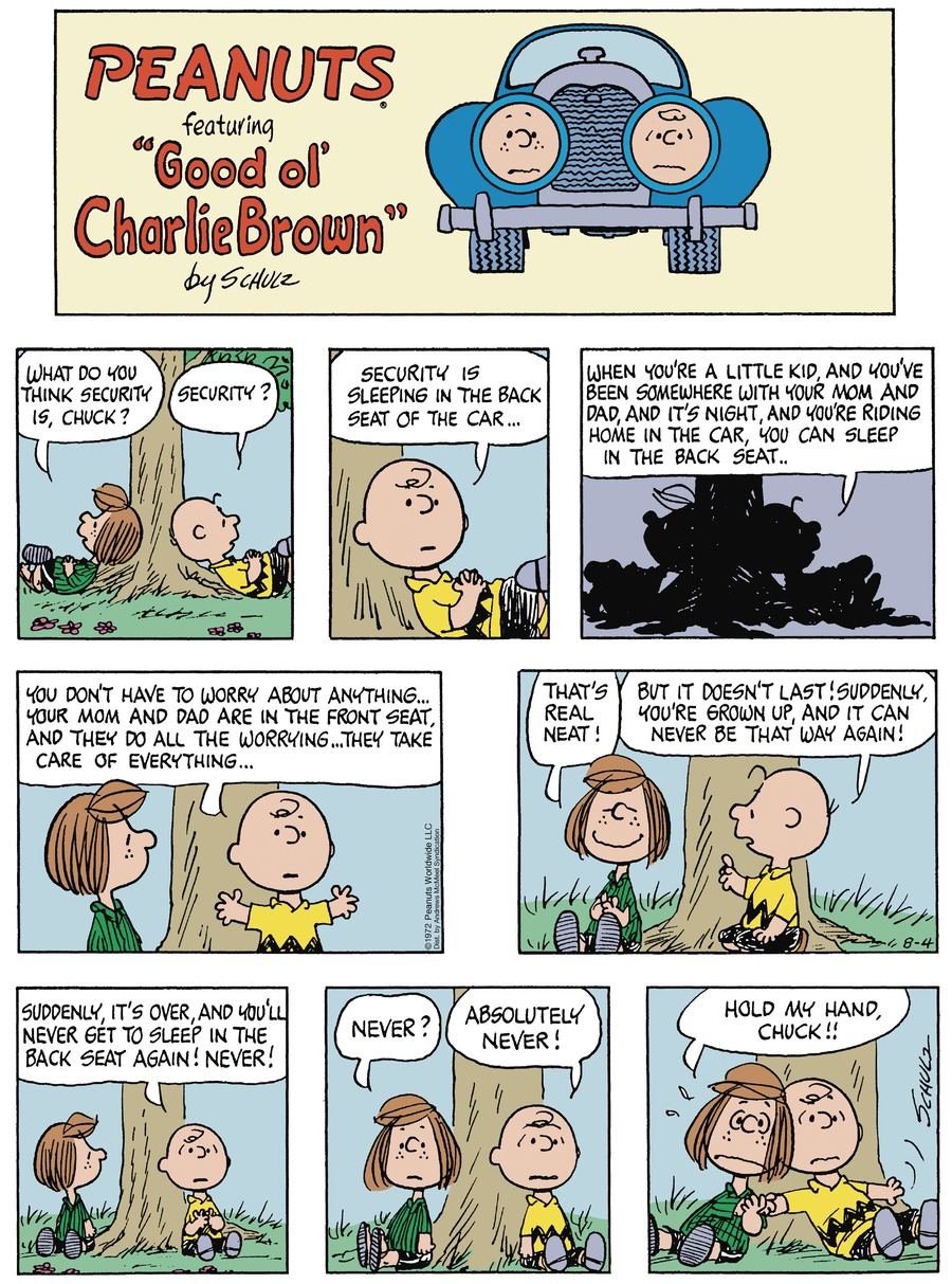 Peanuts by Charles Schulz for August 04, 2019