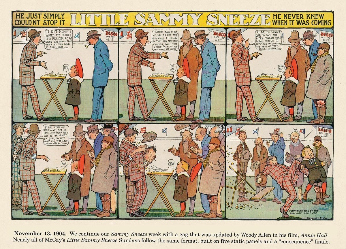 Origins of the Sunday Comics Comic Strip for November 18, 2020