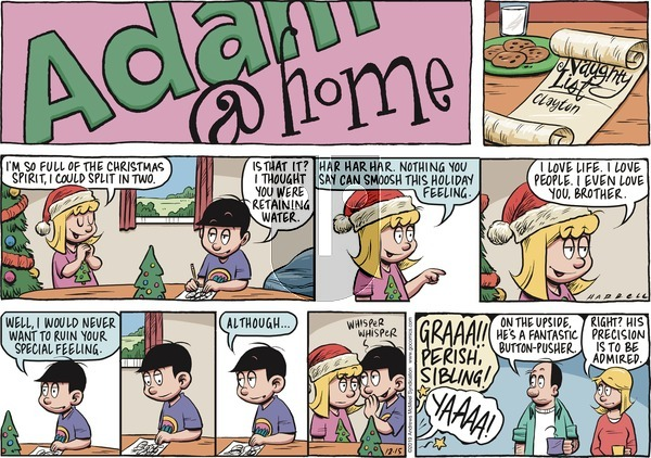 Adam@Home on Sunday December 15, 2019 Comic Strip