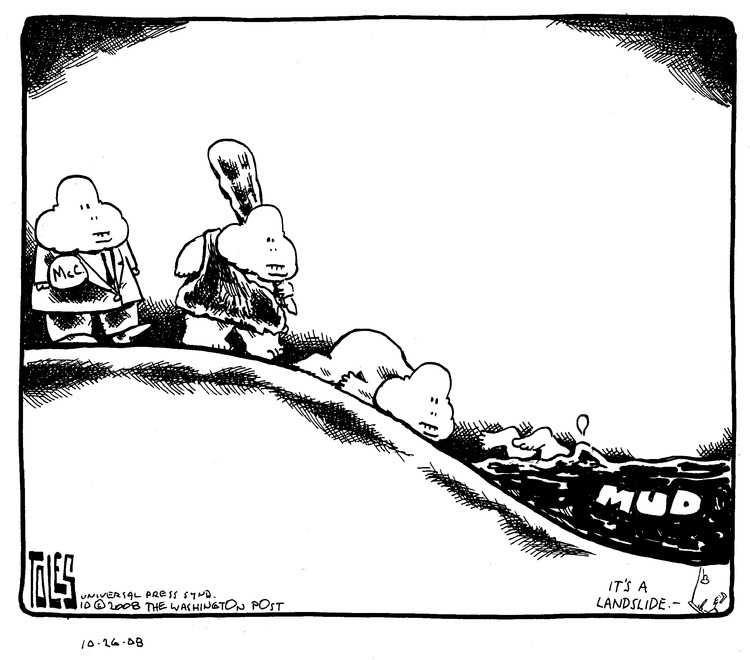 Tom Toles for Oct 26, 2008 Comic Strip