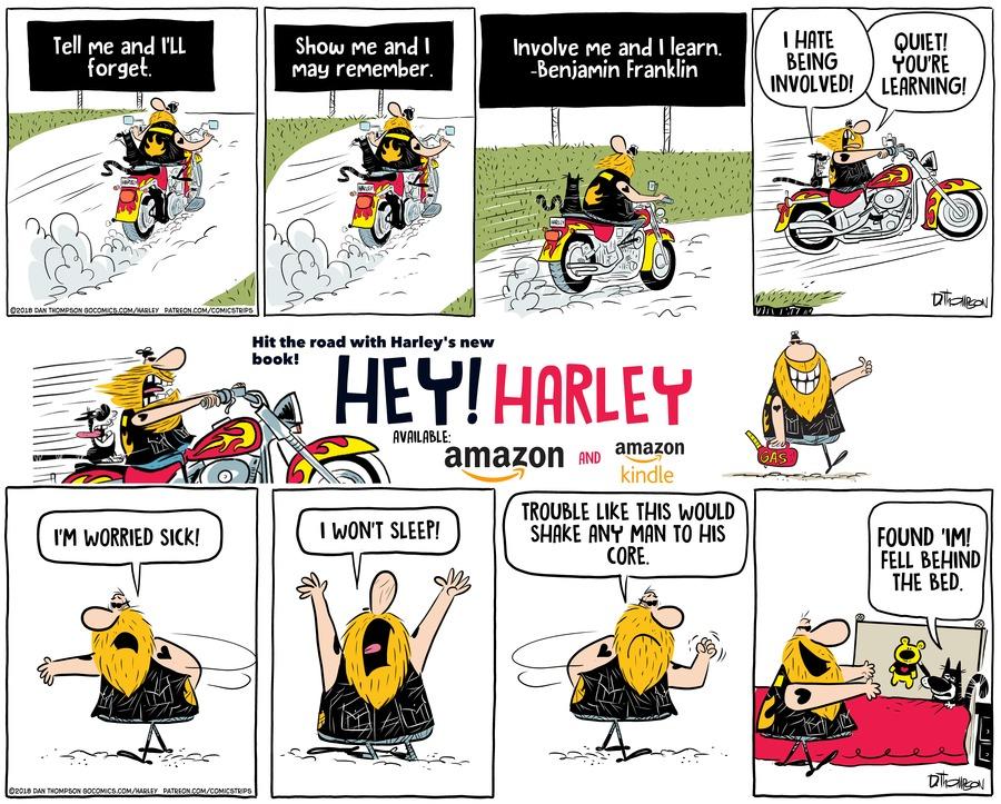 Harley Comic Strip for September 26, 2021