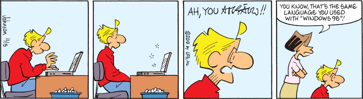Arlo and Janis for Nov 15, 2010 Comic Strip