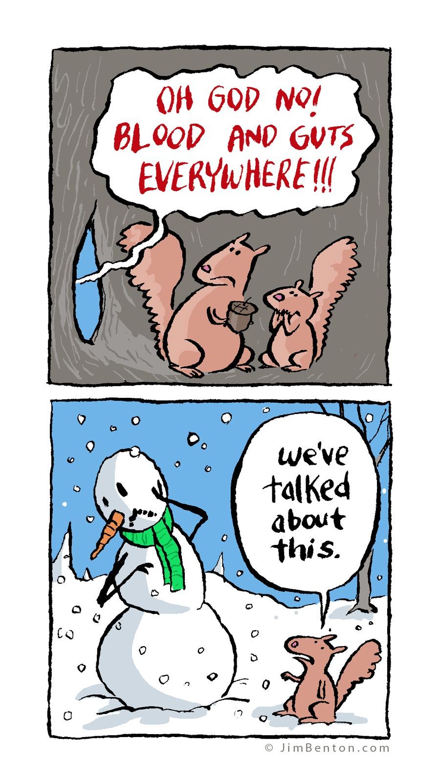 Jim Benton Cartoons Comic Strip for January 25, 2015