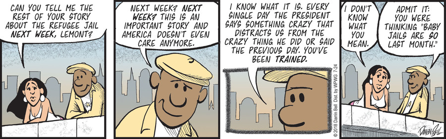 Candorville Comic Strip for July 24, 2018