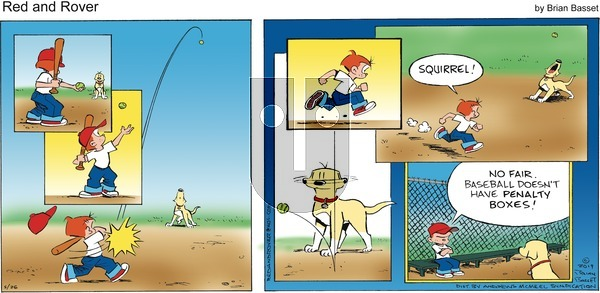 Red and Rover on Sunday May 26, 2019 Comic Strip