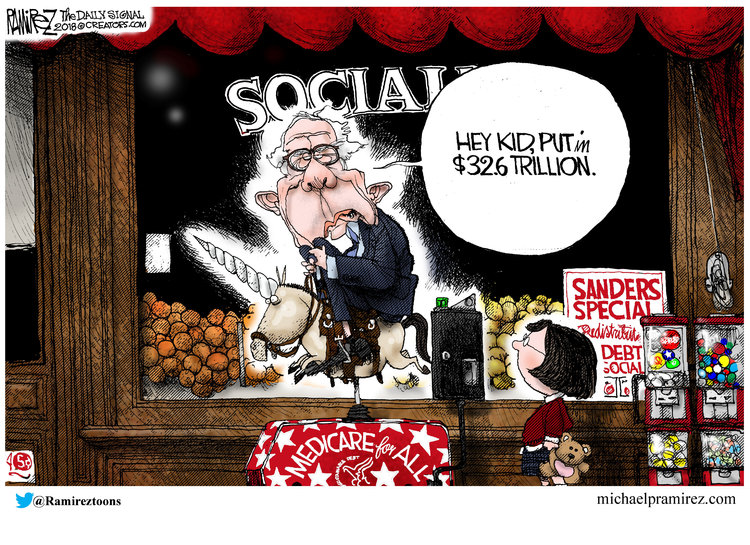 Michael Ramirez Comic Strip for August 25, 2018