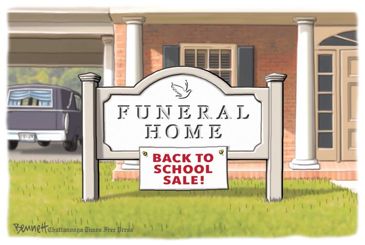 Clay Bennett Comic Strip for August 05, 2020