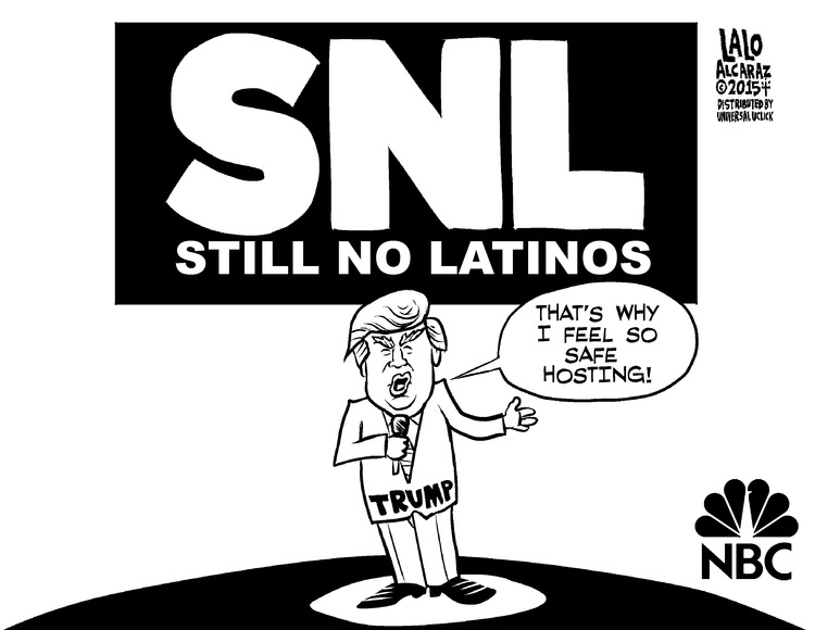 Lalo Alcaraz for Jan 4, 2015 Comic Strip