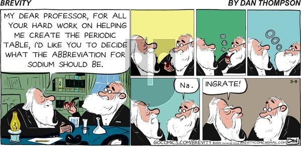 Brevity on Sunday March 8, 2015 Comic Strip