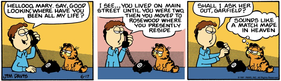 Garfield Classics Comic Strip for June 23, 2019
