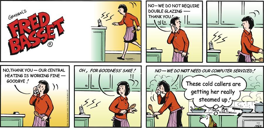 Fred Basset Comic Strip for October 02, 2016