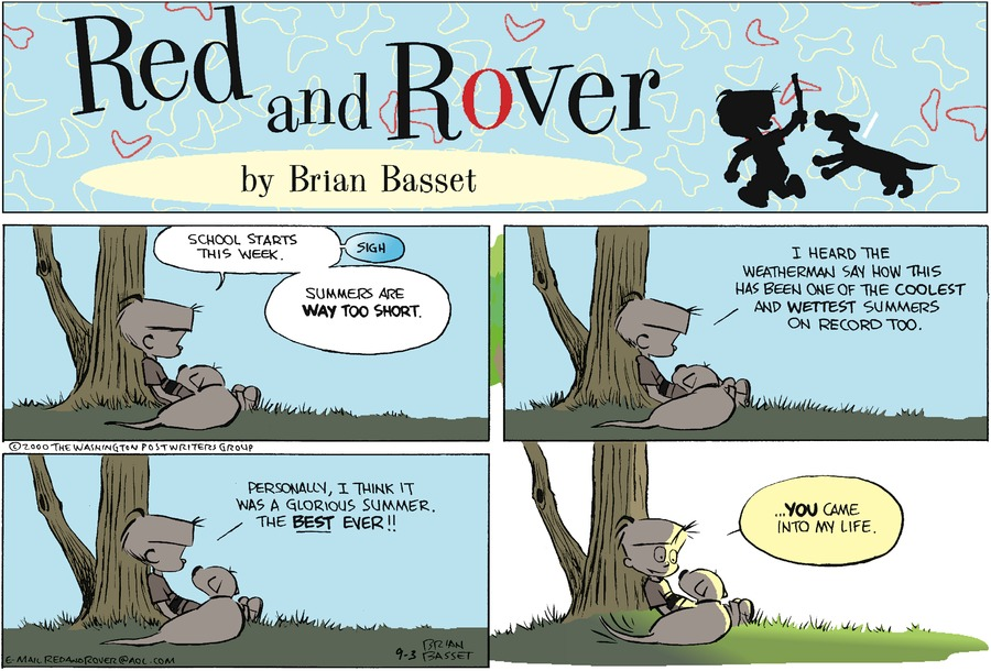 Red and Rover for Sep 3, 2000 Comic Strip