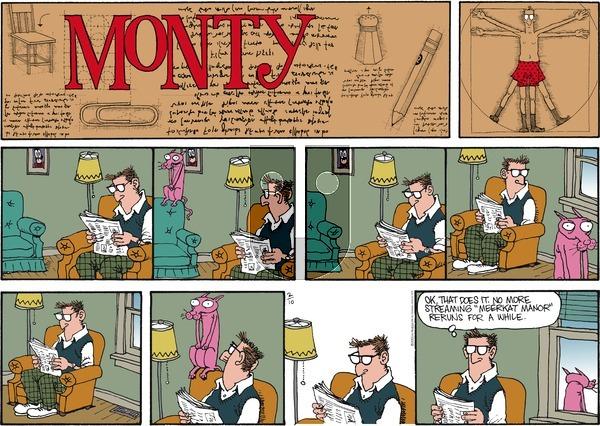 Monty on Sunday February 10, 2013 Comic Strip