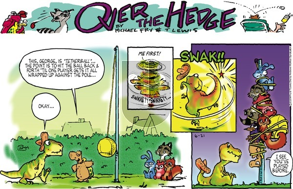 Over the Hedge on Sunday June 21, 2020 Comic Strip