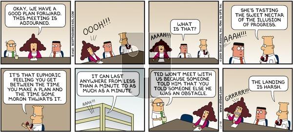 Dilbert - Sunday January 27, 2008 Comic Strip