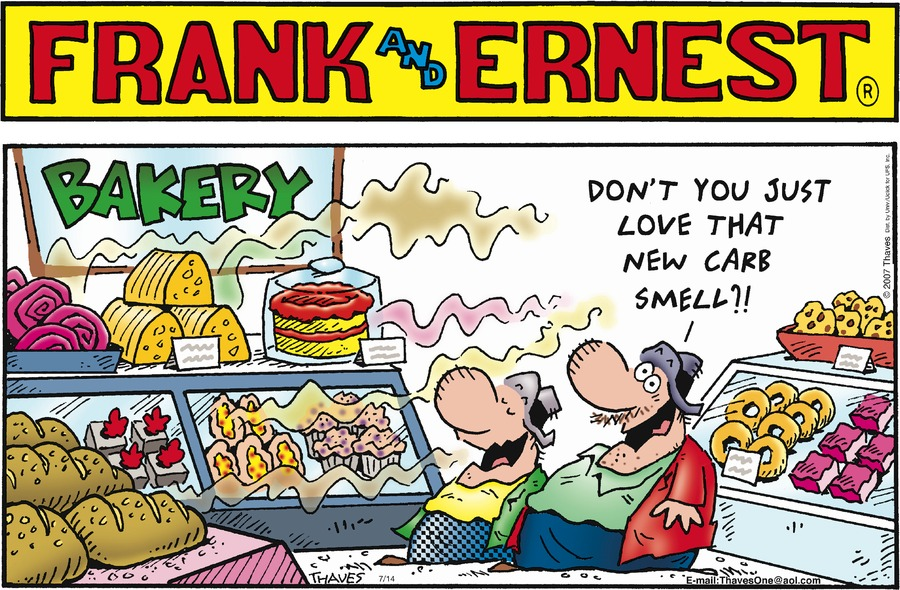 Frank and Ernest Comic Strip for July 14, 2013