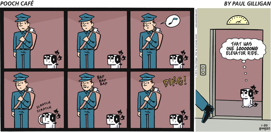 Pooch Cafe Comic Strip for January 20, 2013