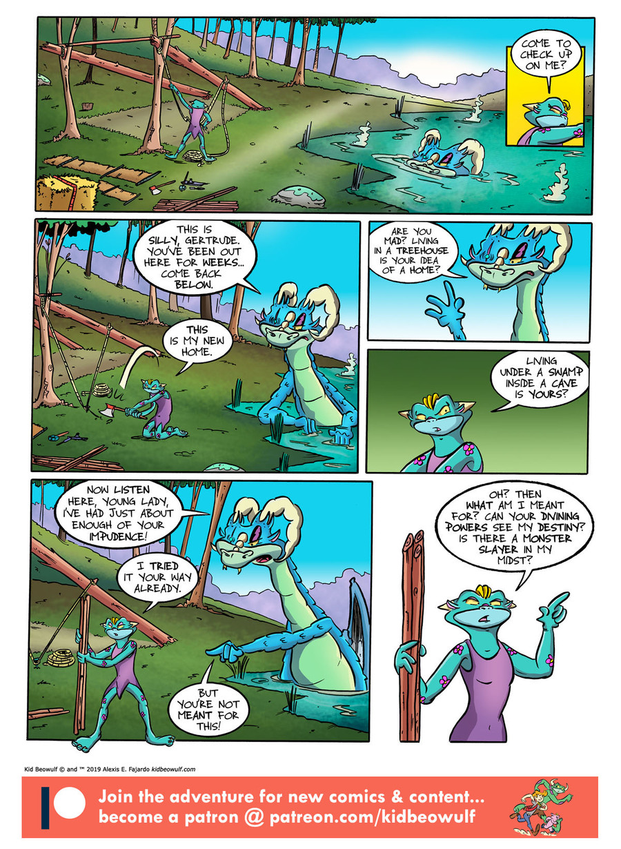 Kid Beowulf Comic Strip for June 19, 2019
