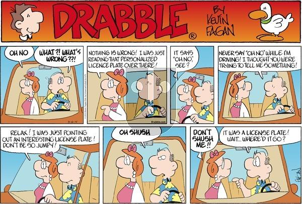 Drabble on Sunday March 16, 2014 Comic Strip