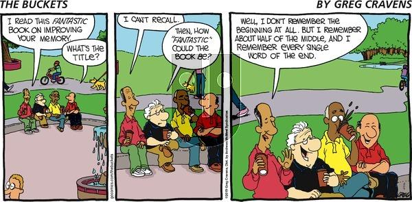 The Buckets - Sunday August 4, 2019 Comic Strip