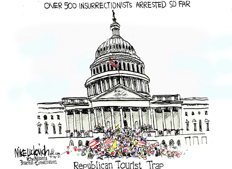 Mike Luckovich Comic Strip for July 18, 2021