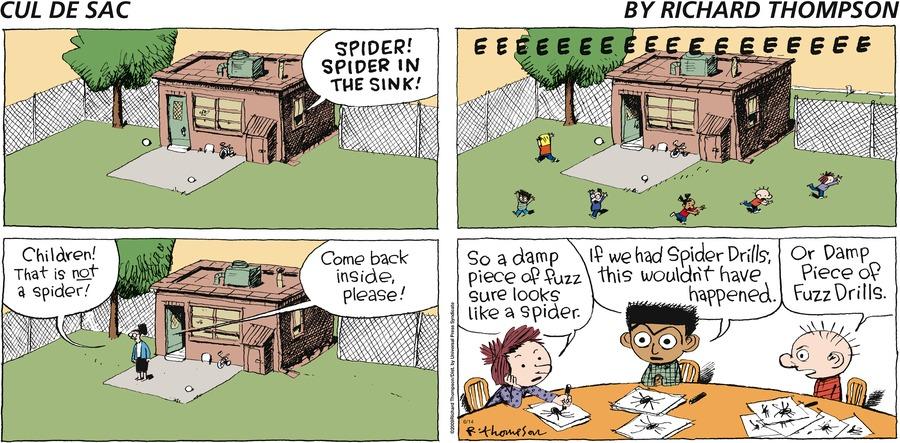 Cul de Sac for Jun 14, 2009 Comic Strip