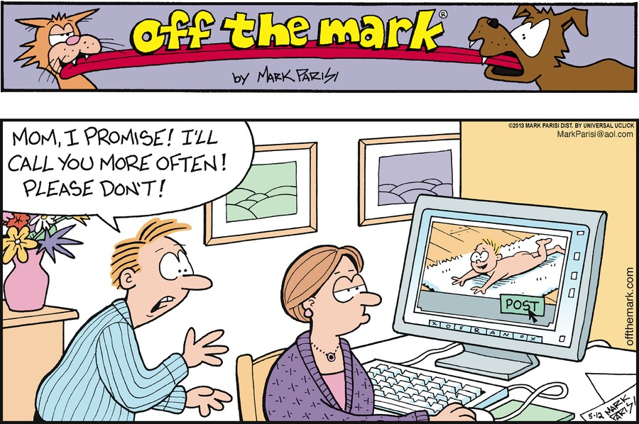 Off the Mark for May 12, 2013 Comic Strip