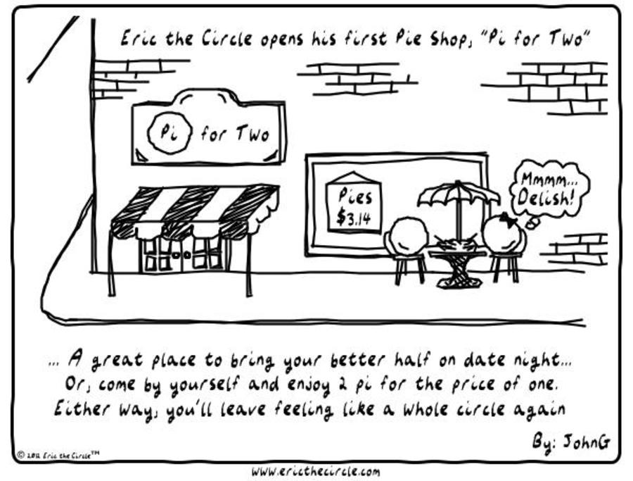 Eric the Circle Comic Strip for February 02, 2018