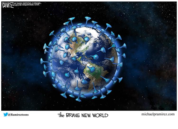 Michael Ramirez Comic Strip for March 23, 2020