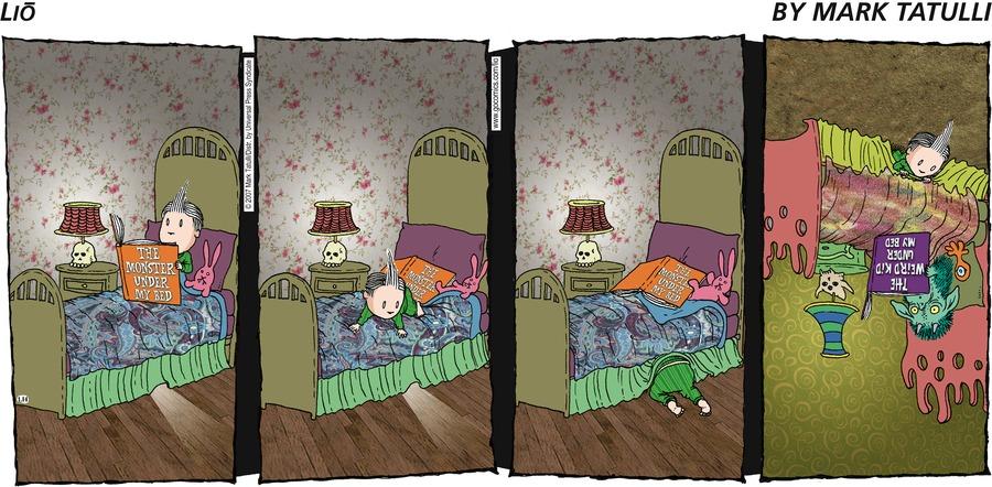 Lio for Jan 14, 2007 Comic Strip
