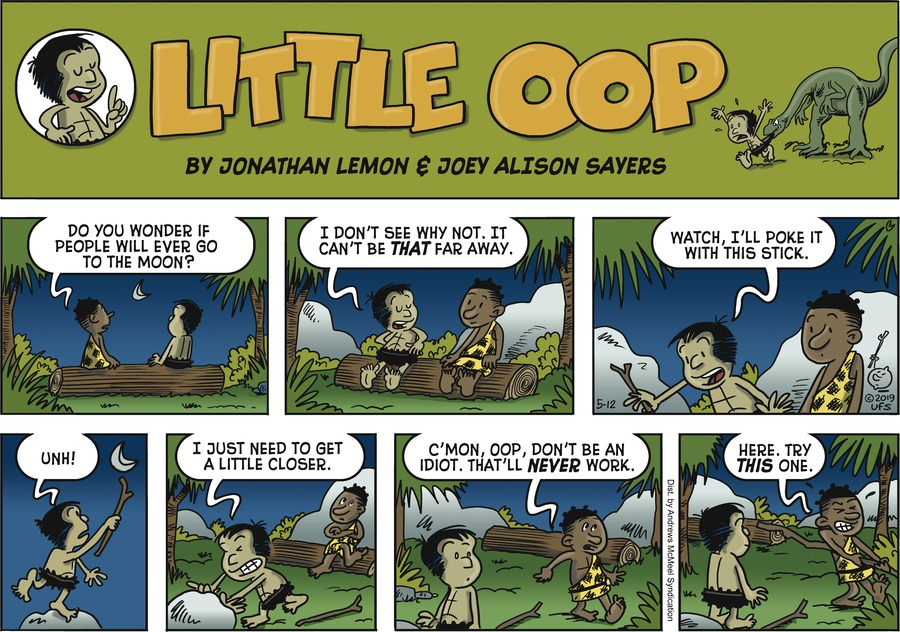 Alley Oop Comic Strip for May 12, 2019