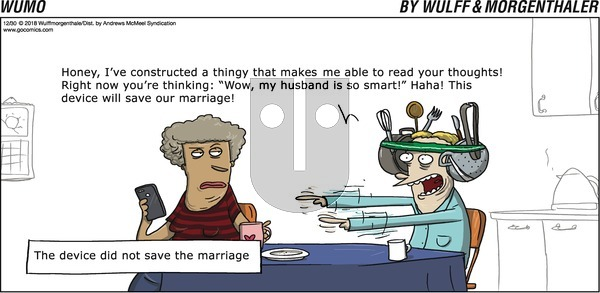 WuMo on Sunday December 30, 2018 Comic Strip